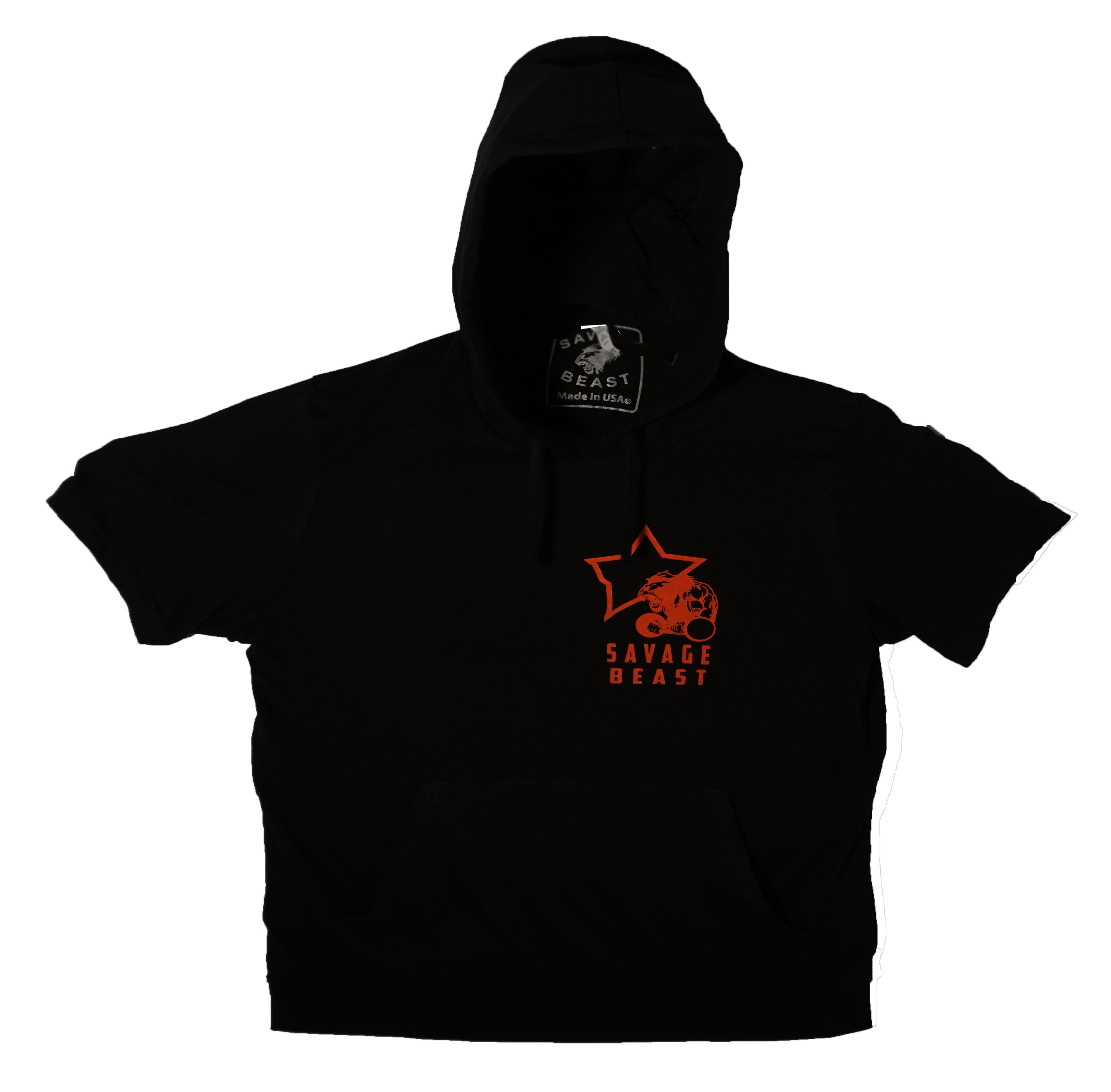 Black t shirt hoodie - Tshirt Hoodie Black